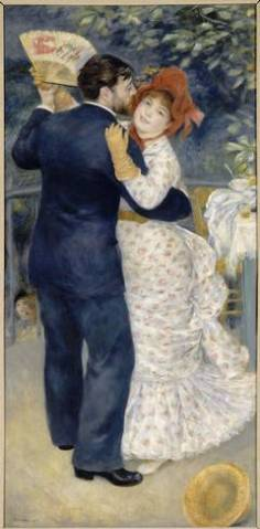 Pierre-Auguste Renoir, Dance in the Country, 1883, Oil on canvas (Picture: RMN-Grand Palais (musée d'Orsay) / Hervé Lewandowski)