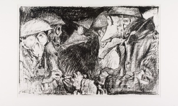 Gas Mask, 1914-1918 Copyright The Frank Brangwyn Estate