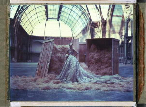 L'arche de Noé  XLIII, Elie Saab, HC Summer 2014, Grand Palais, Paris, 12th February 2015. Color-print from original polaroid, 35 1/2 x 47 1/4 in. Edition of 10