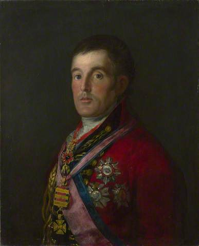 The Duke of Wellington, 1812-14. Oil on mahogany, 64.3 x 52.4 cm. National Gallery, London
