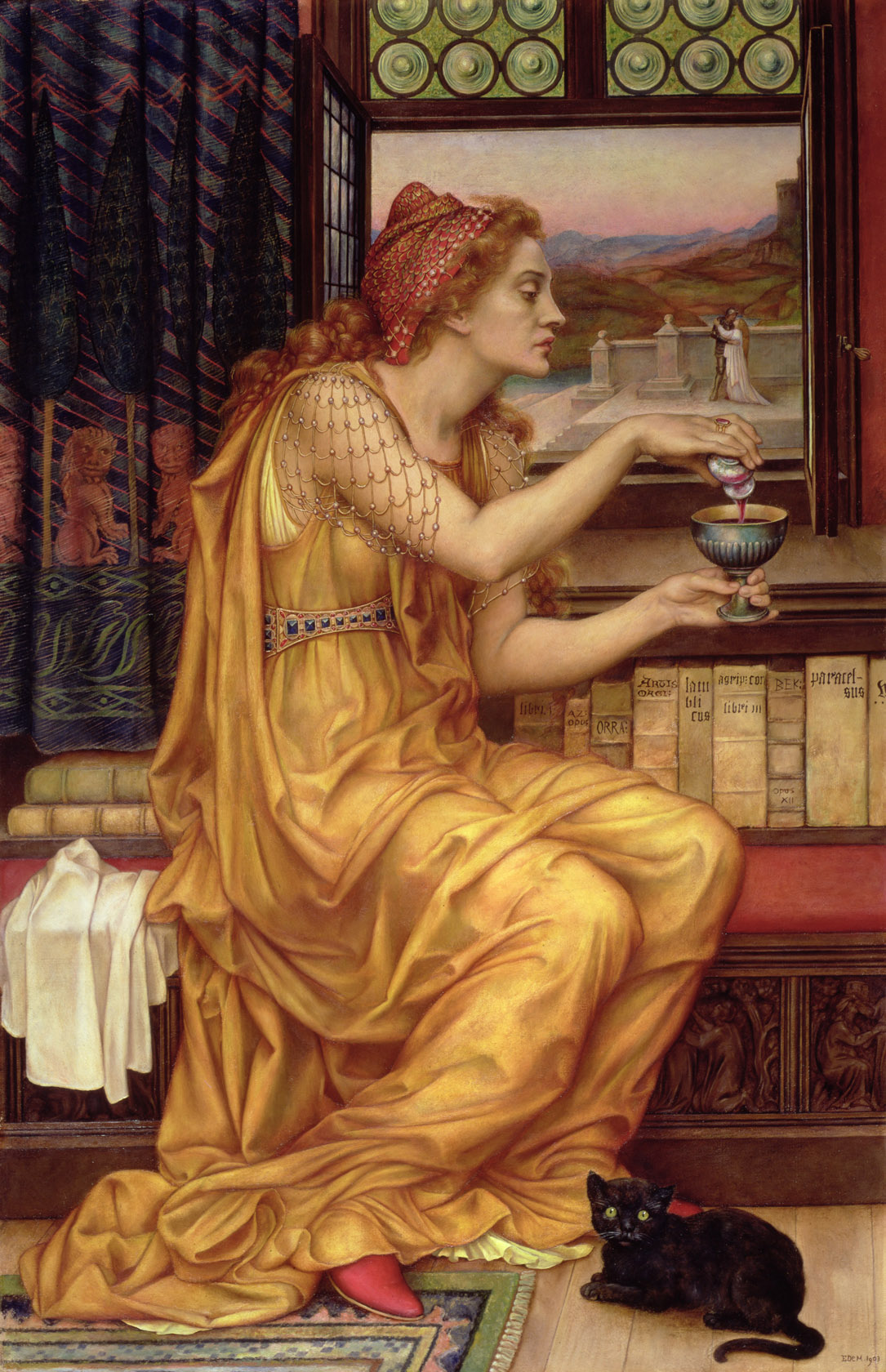 The Love Potion, 1903; oil on canvas; 104.1x52.1 cm