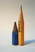 Il Castello, 2007. Found pencils. Courtesy the artist.