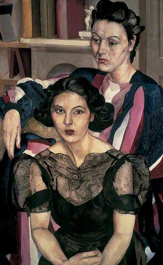 The Sisters, c.1940. Oil on canvas, 121.9 x 76.2 cm. Leeds Museums and Galleries