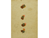 Denis Farrell, Memory's Multiple Orgasms, 1994, watercolour on paper, 20.5 x 14.5 cm