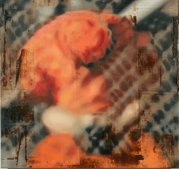 Submission I, 2005, Oil on linen, 86.5 x 92 cm/ 34 x 36 1/4 in