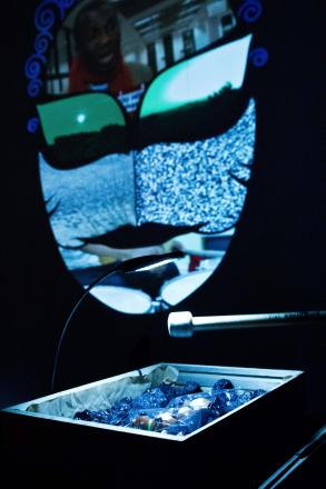 Kooj Chuhan's artwork by photographer Simone Rudolph