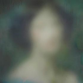 Lady A, 2015, 160 cm x 128 cm Acrylic on canvas