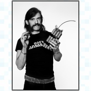 Lemmy Kilmister, London, 1982