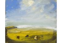 Melita Denaro, The lovely weeping shore..., 2003, oil on canvas, 38 x 46 cm