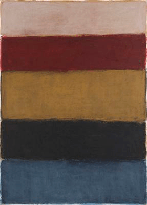Untitled (Pastel), 2014. Pastel on paper, 231.1 x 165.1 cm / 91 x 65 in