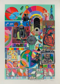 Eduardo Paolozzi, B.A.S.H., 1971, screenprint. Private Collection.