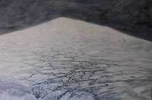 """Svalbard, Norway. """"Nature in the raw."""" Oil on canvas"""