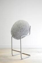 Forgotten Memory, 2015, steel wire, pine cone, retrieved object