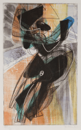 Stanley William Hayter, Danse du Soleil, 1951, etching and engraving. Wakefield Council Permanent Art Collection.