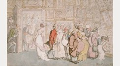 Thomas Rowlandson: The Portrait Painter's Ante-room, 1809