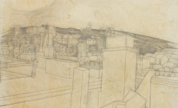 Wilhelmina Barns-Graham, St Ives, pencil on paper