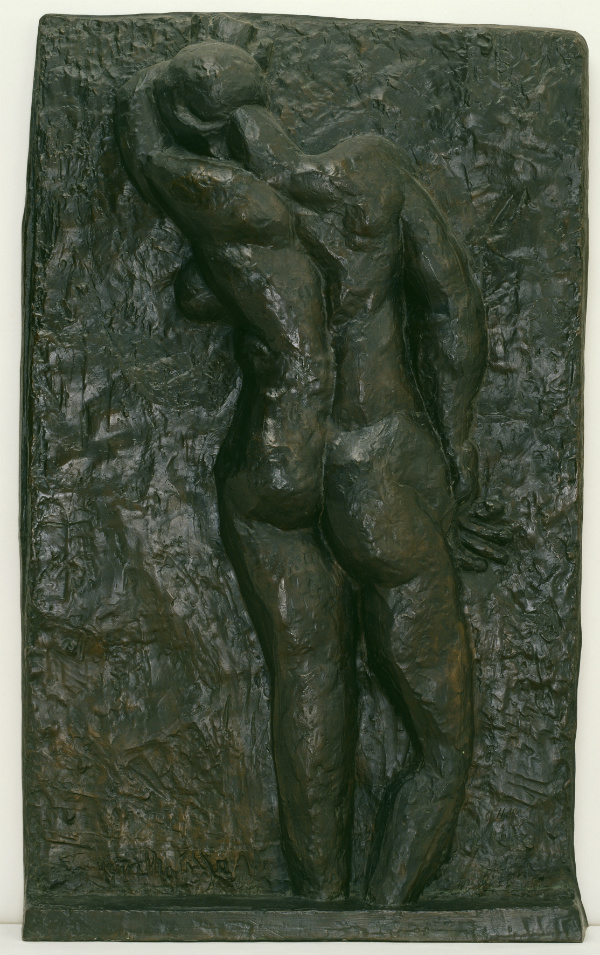 Back I. Nu de dos I c.1909-10, cast 1955-6. Bronze, 1899 x 1168 x 184 mm.