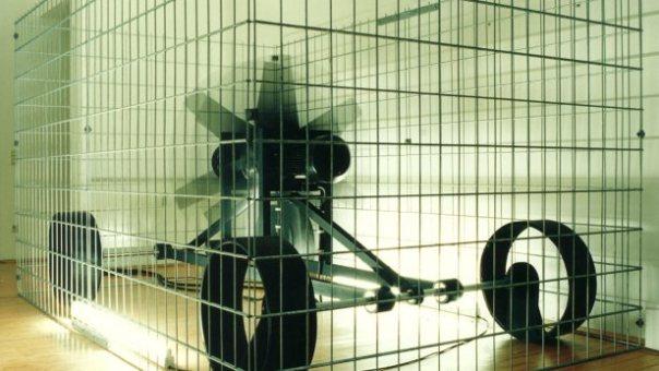 Gereon Lepper, 'Der Apparat fast unbewegt', 1992