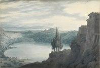 Lake Nemi (c.1788) John Robert Cozens