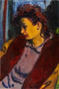 Matthew Arnold Bracy Smith: Jean Merilym Simmons, 1946, oil on canvas