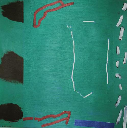 Succour, 2014, oil on canvas