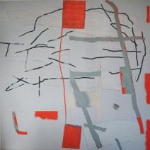 Transit, 2010, 120x120 cm