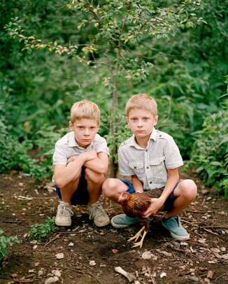 3rd Prize: Braian and Ryan by Birgit Püve