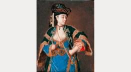 Laura Tarsi, 'a Grecian lady', c.1745-1749. Fitzwilliam Museum, Cambridge