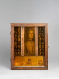 Untitled (Pinturicchio Boy), 1942-52. Box construction. 35.4 x 28.4 x 9.8 cm. Glenstone. Photo: Tim Nighswander