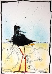 Nextinction - Black Shrike on a Bike