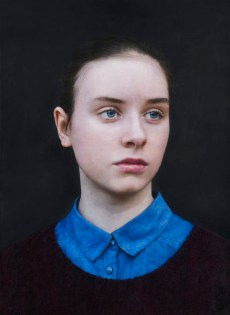 Michael Gaskell: Eliza, 2015. Acrylic on board,370 x 270mm