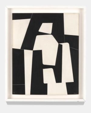 Pedro de Oraá: Sin Título (Untitled), 1960. Emulsion on cardboard, 23 5/8 x 15 3/4 inches (60 x 40 cm)