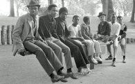 Boys on a See-Saw, Handsworth Park, 1984