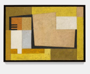 Rafael Soriano: Composición (Composition), 1954.Oil on canvas,22 1/4 x 32 3/8 x 7/8 inches (56.5 x 82 x 2 cm)