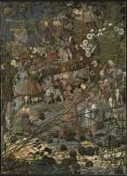 The Fairy Feller's Master-Stroke, 1855-64. Oil on canvas, 54 x 39.4 cm. Collection: Tate