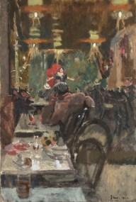 Au Café Concert, Vernet's Dance Hall, 1920. Daniel Katz Gallery, London