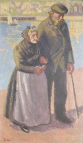 The Blind Sea Captain, 1914. Private collection, Belgium
