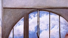 Clouds, 1997, oil on canvas, 97 x 162 cm