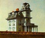 Edward Hopper: HOUSE BY THE RAILROAD, 1925