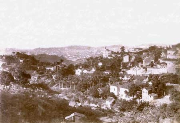 The Santa Teresa district of Rio de Janeiro, photographed in c. 1893/4 by Juan Gutierrez