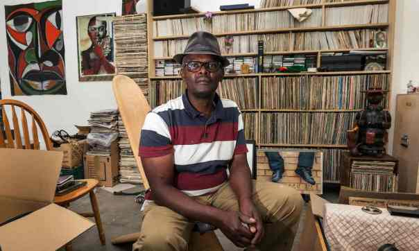 "The Guardian, 21 July 2015: ""Playing house: why Vanley Burke moved his entire flat into a gallery."" Photograph: David Sillitoe."