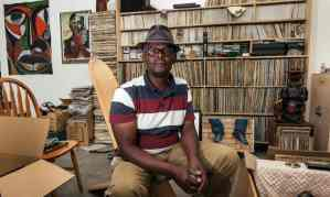 """The Guardian, 21 July 2015: """"Playing house: why Vanley Burke moved his entire flat into a gallery."""" Photograph: David Sillitoe."""