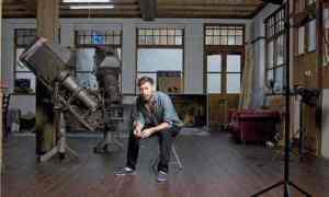 """Guardian interview, 2013: """"Mat Collishaw: still sensational."""" Photograph: Thomas Butler."""