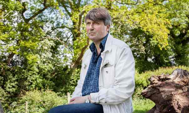 """The Guardian, 20 September 2017: """"Simon Armitage webchat – your questions answered on poetry, austerity and Beyoncé."""" Photograph: Gareth Phillips."""