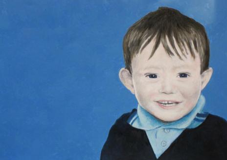 LOUIS │2014 │Acrylics on canvas