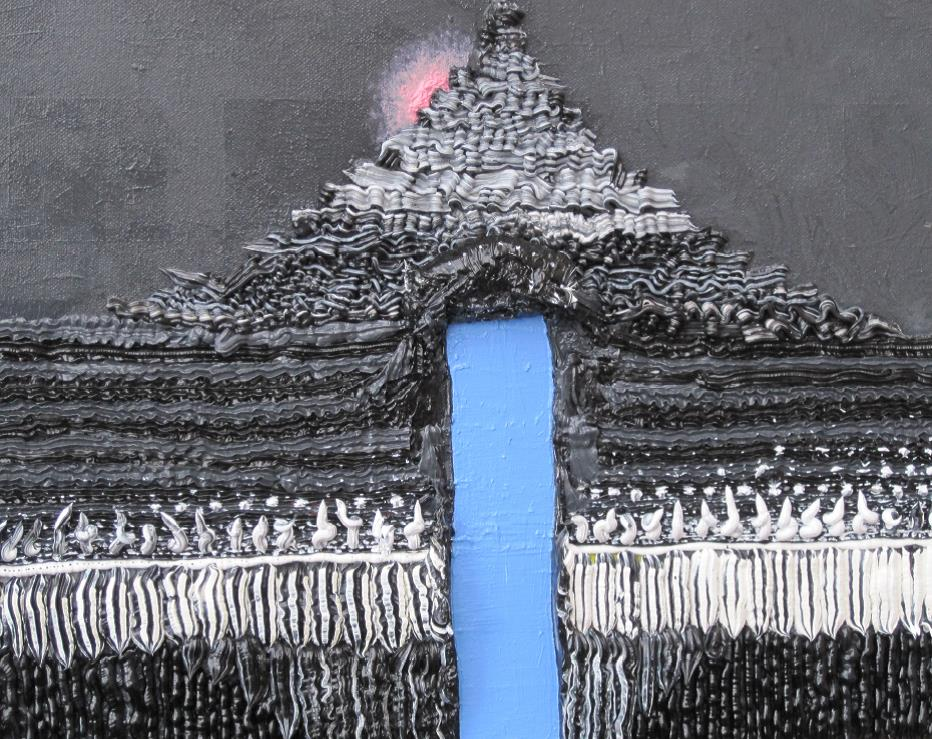 PINCABLU│2012│Acrylics on canvas