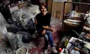 The Guardian, 7 April 2009, interview. Photograph: Sarah Lee.
