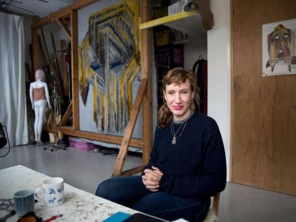 "Phaidon, interview, 2017: ""Why I Create."" Photograph: Teri Pengilley."