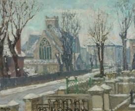 St Peter's Church, Belsize Park, Frank Spencer Curtis Budgen (1882–1971), 1900