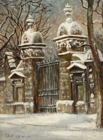 Upper Cheyne Row, Juliet Nora Williams (1872–1937)